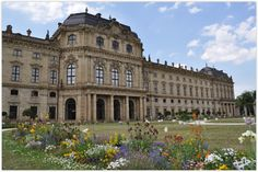 """WUERZBURG (GERMANY): An absolute """"must"""" for your trip to Würzburg is a tour through the Residence. In this amazing Baroque castle you will walk up the probably most beautiful staircase in the world to the world's largest painting, the famous Tiepolo Fresco. It is not surprising that the castle and the gardens were included in the UNESCO World Heritage in 1982."""