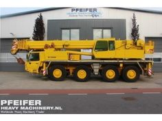 Used telescopic crane available at Pfeifer Heavy Machinery. Item Number PHM-Id 05979, Manufacturer FAUN, Model ATF 70-4 Year of construction 2000, Kilometers 84745 Hours 13334, Loading (lifting) capacity (kg) 70000, Boom length maximum (m) 40 Fuel Diesel.