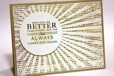 Love Heather Nichols take on this card!