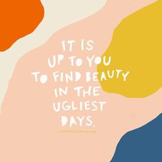It's not so easy some days. Finding beauty can feel unnecessary, too hard, maybe just tiring. ❤️ Let's rest, not quit. And show the beauty… - Frau Oe - Kind Words - Happy Quotes, Positive Quotes, Motivational Quotes, Life Quotes, Inspirational Quotes, Happiness Quotes, Friend Quotes, Words Quotes, Wise Words