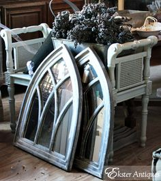 Love these old Glass windows