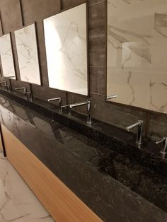 Matching set touch free taps, automated soap dispensers and electronic hand dryers by Stern installed at a private events room. Taps, Faucets, Sanitary Products, Soap Dispensers, Dryers, Matching Set, Bathtub, Touch, Events