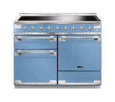 Defined by a sophisticated design with a continental flair, the Rangemaster Elise 110 Dual Fuel Range Cooker in china blue and chrome will inspire you to new daily culinary heights every day. Electric Range Cookers, Dual Fuel Range Cookers, Gas Cookers, Foyers, Induction Range Cooker, La Cornue, French Collection, Kitchen Interior, Kitchens
