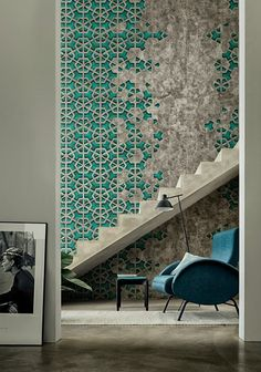 Architecture & Interior design / Walls reminiscent of the 50s