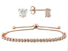 Bella Luce (R) 7.00ctw 14kt Rose Gold Over Sterling Silver Bracelet An