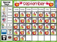 Smartboard calendar ideas   Technology in the Classroom ...
