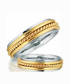PURE STERLING SILVER PAIR OF WEDDING RINGS - VY Domingo Jewellers Incorporated