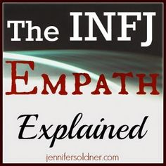 Always looking to learn more about both INFJ and empath ways of living and being. www.julielichty.com