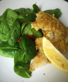 Fish with pea, mint & broccoli mash #jamiesrecipe #everydaysuperfood #foodcoaching_svk
