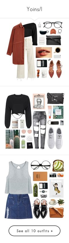 """Yoins/I"" by jesicacecillia ❤ liked on Polyvore featuring yoins, yoinscollection, loveyoins, Rachel Comey, RetroSuperFuture, COVERGIRL, Royce Leather, Denby, Aesop and adidas"