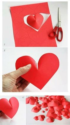 ✉ Canvas Painting Projects, Paper Art, Paper Crafts, Kawaii Doll, Paper Folding, Valentines Diy, Handmade Flowers, Wall Art Decor, Hand Embroidery