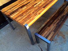 reclaimed wood modern coffee table - Google Search
