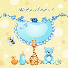 Cute baby cards creative design graphics vector 04