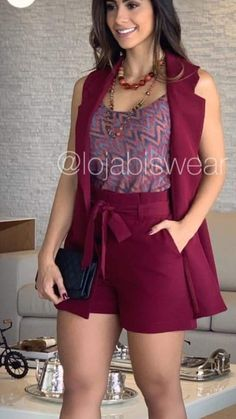 Linen two piece female office suit Casual V-neck pants short sleeve summer fashion multicolor women lady girl suit set Short Outfits, Summer Outfits, Short Dresses, Classy Outfits, Stylish Outfits, Women's Fashion Dresses, Dress Outfits, Chor, Urban Fashion