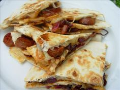 Chorizo and Manchego Cheese Quesadillas. Photo by French Tart