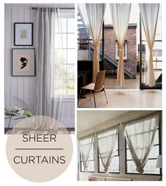 sheer curtains. Theses remind me of the ones in tonala. Very affordable lots of colors. Tie-back would work well.