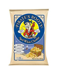 Try a gluten-free baked potato chip from Pirate's Booty to satisfy your salty cravings.