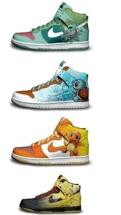 Pokemon Shoes I would buy these in a heartbeat
