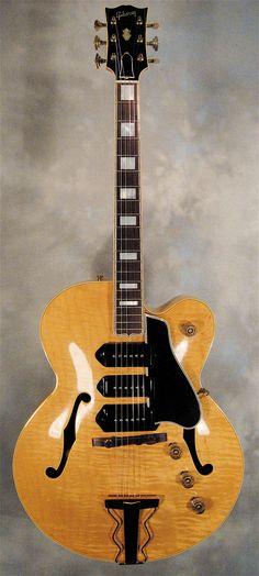 blonde Gibson ES5