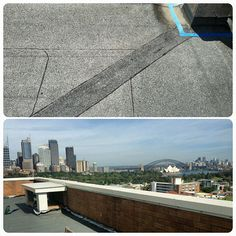 Kodex torch on membrane giving you a flawless finish with a flawless view. 20yr system warranty provided. #Kodex #Waterproofing #WaterproofingProducts #WaterproofingSolutions #WaterproofingMembrane #TextureCoatings #Paint