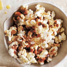 Add a touch of sweetness to your homemade popcorn with this delicious and simple maple butter syrup topping recipe from Donna Hay. Popcorn Bags, Popcorn Toppings, Butter Popcorn, Donna Hay Kids, Homemade Popcorn, Donna Hay Recipes, Cooking With Kids, Touch, Sweet Recipes