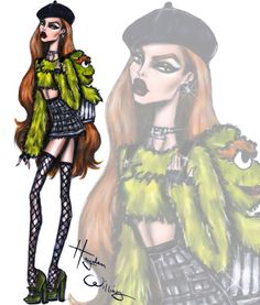 The Sesame Street collection by Hayden Williams: Oscar the Grouch