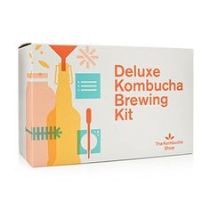 With this Deluxe Kombucha Brewing Kit you get everything you need to start brewing like a pro. Includes Kombucha Kit, SCOBY, swing top bottles, and more. Kombucha Fermentation, Best Kombucha, Kombucha Starter, Kombucha Scoby, How To Brew Kombucha, Kombucha Brewing, Whole Foods Gift Card, Food Gift Cards, Kombucha Culture