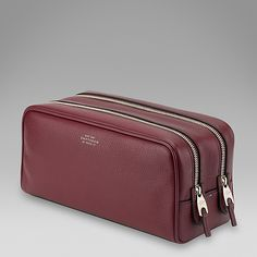 Smythson represents over 130 years of British craftsmanship. Discover luxurious leather bags, accessories, stationery and notebooks. Smythson, Wash Bags, Travel Style, Leather Bag, Zip Around Wallet, Menswear, Luxury, Deerskin, Casual