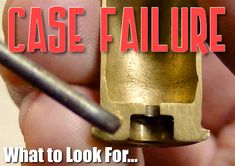 Inspect Your Fired Brass to Avoid Catastrophic Case Failures « Daily Bulletin Hunting Guns, Archery Hunting, Hunting Stuff, Deer Hunting, Varmint Hunting, Reloading Room, Gunsmithing Tools, Your Fired, Metal Working Tools