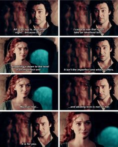 """""""What that night with Elizabeth taught me, and God knows, there should have been other ways for me to come to my senses, but my arrogance… my idiocy… has been spectacular. She will never come between us again. My true, real, and abiding love is not for her. It is for you"""" - Ross and Demelza #Poldark ((Sobbing. Beautiful scene!))"""