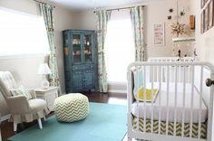 sweet and simple nursery