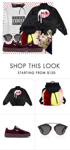 """""""Untitled #848"""" by brandi-gurrola on Polyvore featuring Alexander Wang, Kendall + Kylie, Puma, Christian Dior and Fallon"""