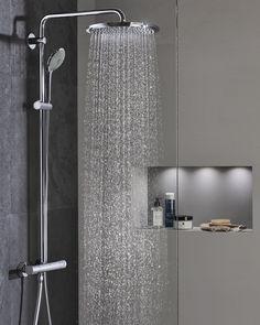 Neu Set Duschkopf Duschpaneel Duscharmatur Regendusche