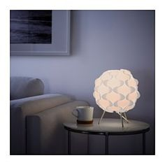 IKEA - FILLSTA, Table lamp with LED bulb, Gives a soft mood light.