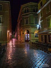 Zadar (Milan Z81) Tags: night croatia zadar adriatic hrvatska no jadran dalmatia dalmacija