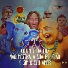 Religião chamada amor.