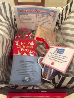 Christmas eve box for children,lovely idea of my freinds!