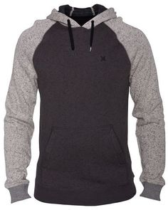 40ffdbb2843b Hurley Retreat Pullover - A traditional pullover hoodie gets an update with  raglan styling - plus size clothing online