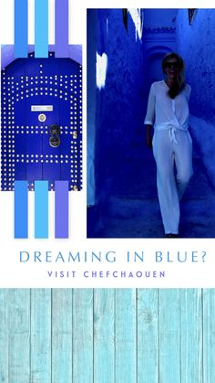 Chefchaouen: The Blue City Morocco. A Thousand Shades of Indigo % Visit Morocco, Morocco Travel, Africa Travel, Blue City Morocco, Running Jokes, Sister Cities, Everything Is Blue, Travel Alone, Travel Inspiration