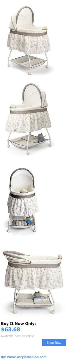 Bassinets And Cradles: Delta Children Sweet Beginnings Bassinet, Falling Leaves BUY IT NOW ONLY: $63.68 #ustylefashionBassinetsAndCradles OR #ustylefashion
