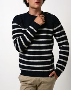 A.P.C. Apparel  FW12 Sailor Sweater Navy $285