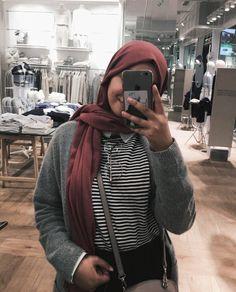 Muslim Fashion, Hijab Fashion, Hijab Outfit, Leather Jacket, Celebrities, Womens Fashion, Islam, Jackets, Outfit Ideas