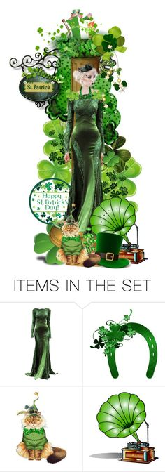 """""""Purr-fect Irish Beauty"""" by sjk921 ❤ liked on Polyvore featuring art"""