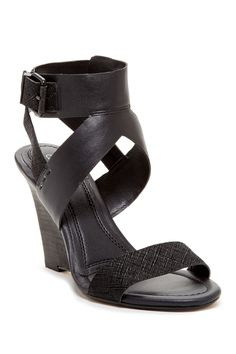 Calvin Klein Jeans Maisi Cross Hatch Wedge Sandal by CK Jeans on @nordstrom_rack