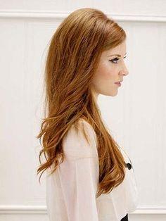 Bouffant Hair. Wish I could do it. haha
