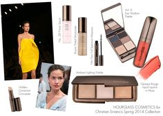 The Beauty Look Book: Hourglass Cosmetics Polly Osmond for Christian Siriano's Spring 2014 Collection