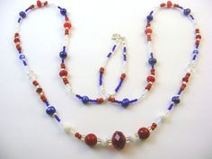 Red White and Blue for July 4th.  It's not too late!