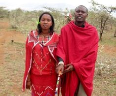PASTOR JOHN TINO'S MINISTRY TO THE MAASAI PEOPLE begins by helping them with food and education of their needy children, and continues with his sharing of the gospel and love of Jesus for their lives.