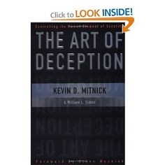 Art of Deception by world's most notorious hacker Kevin Mitnick