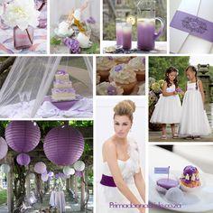 Wedding colours: Shades of Purple - Primadonna Bride